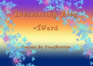 Interesting Blog Award