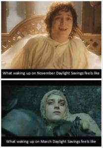 This has nothing to do with music, but it is indicative of how I feel this week. Plus: Hobbits.