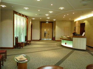 Our reception area looks nothing like this - I kind of wish it did, however. Photo courtesy Google images, marked for noncommercial reuse.