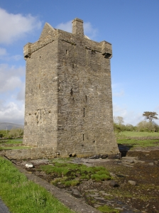 Carrickahowley Castle, photo via WikiCommons, uploaded May 2007 by Brholden