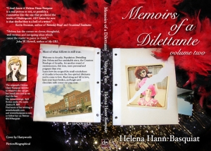Vol. 2 of the Memoirs, Cover art by Hastywords
