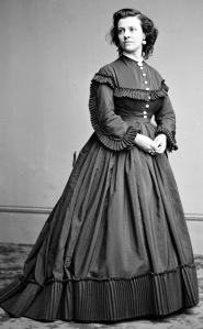 """""""Pauline Cushman"""" Part of the Brady-Handy Photograph Collection (Library of Congress). Licensed under Public Domain via Wikimedia Commons"""
