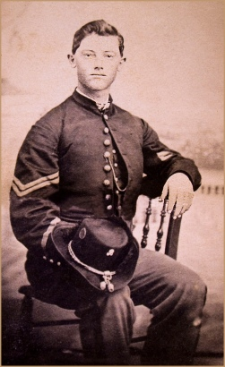 Portrait of a Union Soldier -- Kenosha (WI) Civil War Museum | Image by Ron Cogswell, 2012